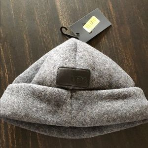 98b3d31ed1448 UGG Accessories - UGG For Men Fabric Cuff Hat Charcoal one-size.